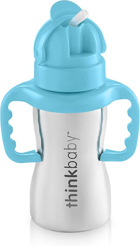 Thinkbaby Thinkster Of Ultra Polished Stainless Steel Blue