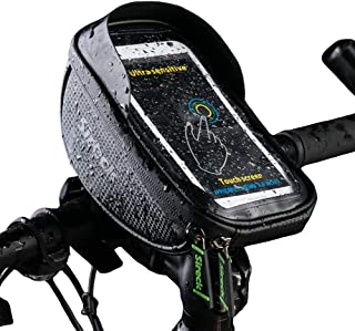 Sireck Bike Bag with 6.5 inch Touch Screen Phone Holder...