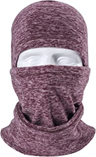 Artpixel Balaclava Face Mask for Skiing and Snowboarding,  Motorcycle Neck Warmer Hood Cover Running Hat,  Windproof Ski Mask Winter Cold Weather Gear for Kids Men Women
