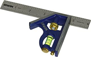 IRWIN Tools Combination Square, Metal-Body, 6-Inch (1794468)
