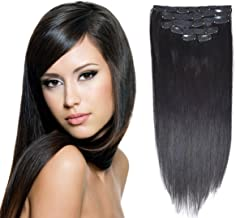 Best human hair extensions for black hair Reviews