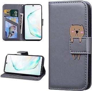 Miagon Animale Flip Custodia per Samsung Galaxy A20S,Portafoglio PU Pelle TPU Cover Design con Slot per Schede Magnetico P...