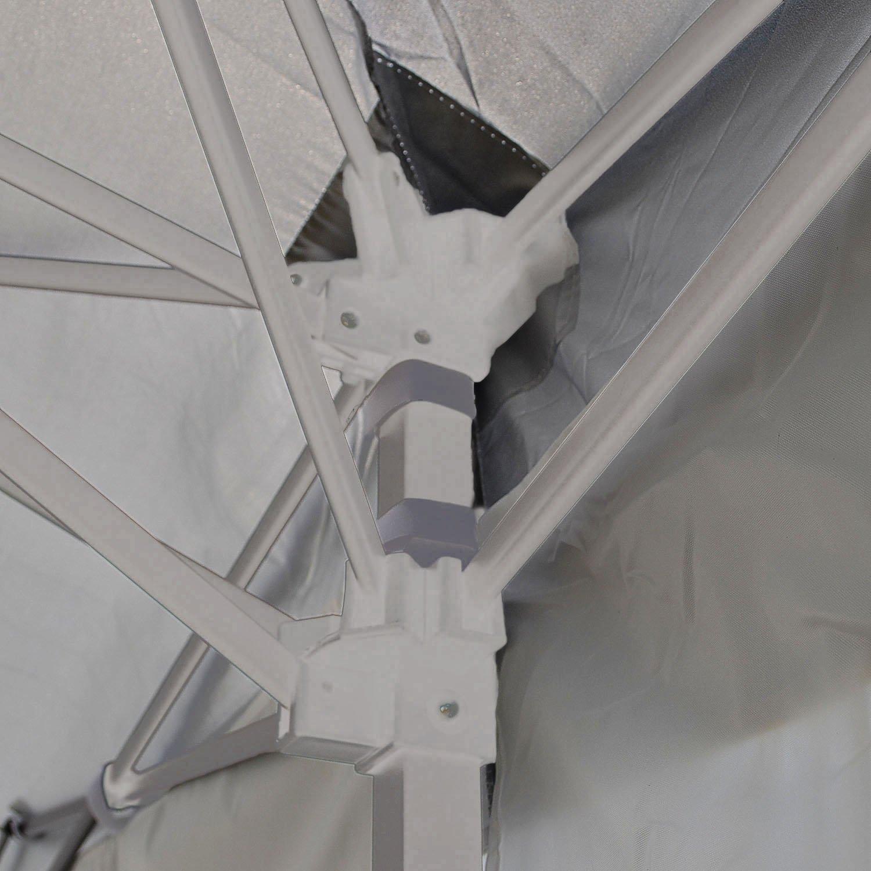 Qulista Carpa Pabellón Plegable 3x3 / 3x6 / 2.5x2.5 / 3x3M Tienda ...