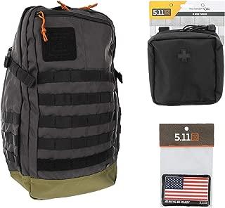 5.11 Rapid Origin Tactical Backpack Med First Aid Patriot Bundle - Stokehold