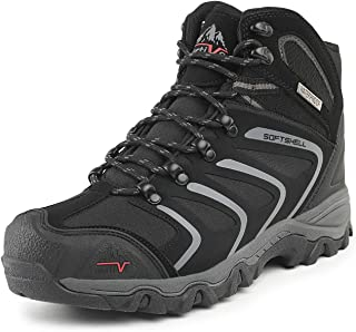 Men's Ankle High Waterproof Hiking Boots Outdoor Lightweight Shoes Backpacking Trekking Trails