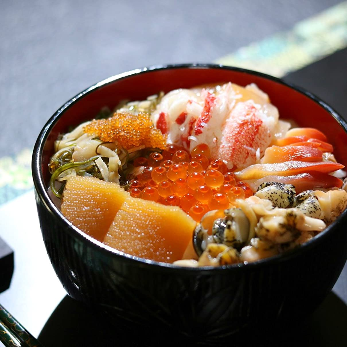 毛細血管文房具麺松前漬け 海の幸 海鮮10種入 270g 北海道 海鮮 松前漬け