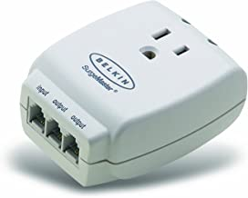 Belkin Single Outlet MasterCube Wall-Mount Surge Protector, 1045 Joules (F9H120-CW)