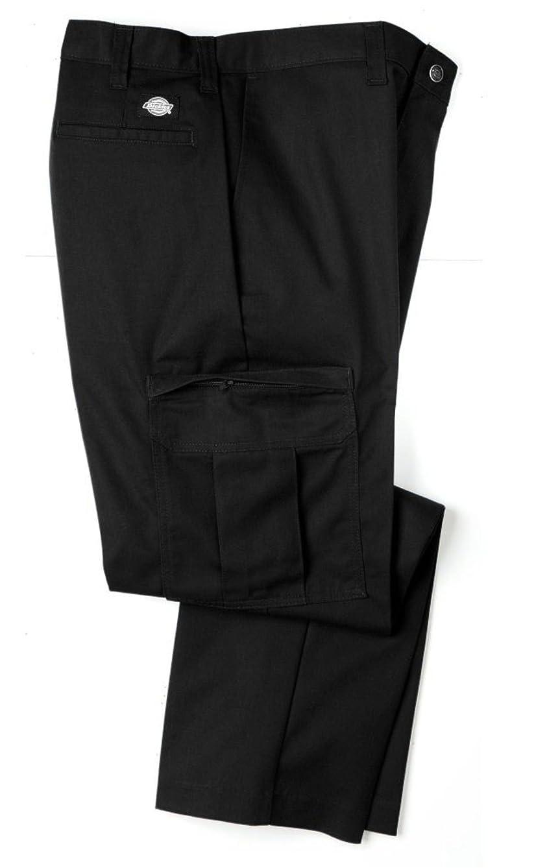 Dickies 2112372BK Men's Premium Industrial Cargo Pant, Black