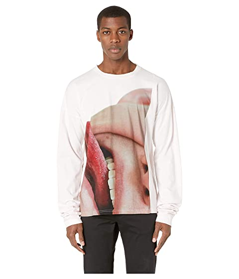 MARNI Long Sleeve Photo Print T-Shirt