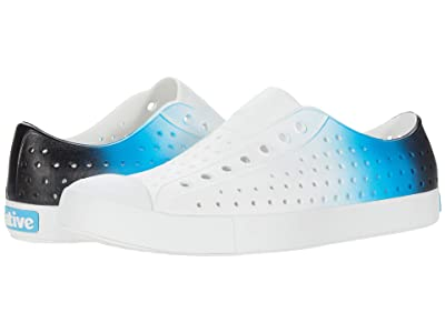 Native Shoes Jefferson Ombre (Shell White/Shell White/Glow Blue) Athletic Shoes