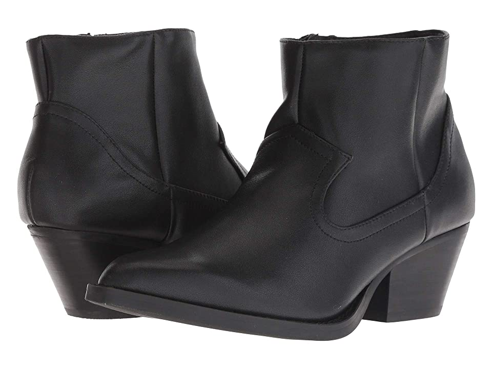 JANE AND THE SHOE Mikayla (Black Leather) Women