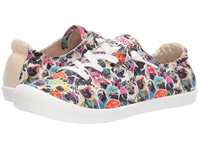 BOBS from SKECHERS Beach Bingo Pugs Kisses (Multi) Women