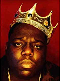 Biggie Smalls 3D Poster Wall Art Decor Print | 11.8x15.7 | Lenticular Posters & Pictures | Memorabilia Gifts for Guys & Girls Bedroom | Biggy Notorious Big Greatest Hits Vinyl Album Cover Photo