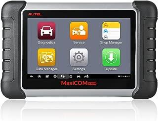 Autel MK808 OBD2 Scanner MaxiCOM Automotive Diagnostic Tool Supports Full Diagnosis & IMMO/EPB/SAS/BMS/TPMS/DPF(MD802 All System+MaxiCheck Pro)
