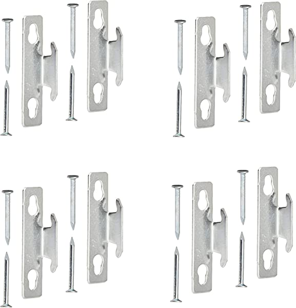 Kenney Mfg Kenney KN851 Single Curtain Rod Bracket 4 Pack
