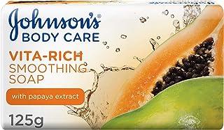 جونسون، صابون للاستحمام، Vita-Rich، نعومة، 125 غ