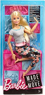 Barbie Made To Move Blonde Doll