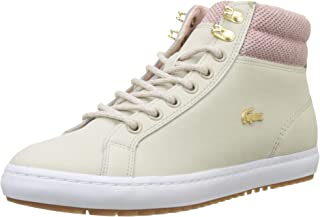 Lacoste Straightset Insulac 318 1 Womens Beige Trainers