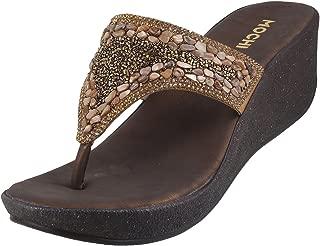 Mochi Women Synthetic Sandals (35-2853)
