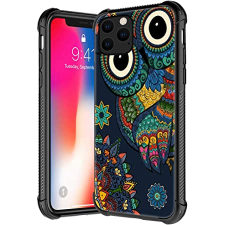 iPhone X Owl Case For Iphone X animal polymer clay eagle-owl Hard Plastic Case