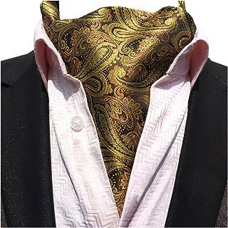 YCHENG Herren Krawattenschal Elegant Jacquard Paisley Floralem Muster Cravat Accessoires