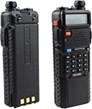 Baofeng UV-5R Dual Band UHF/VHF Radio Transceiver W/Upgrade Version 3800mah Battery with Earpiece - Built-in VOX Function, 136-174/400-480MHz