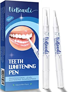 VieBeauti Teeth Whitening Pen(2 Pcs), 20+ Uses, Effective, Painless, No Sensitivity, Travel-Friendly, Easy to Use, Beautiful White Smile, Natural Mint Flavor