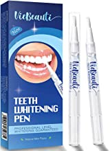 VieBeauti Teeth Whitening Pen(2 Pcs), 20+ Uses, Effective, Painless, No Sensitivity, Travel-Friendly, Easy to Use, Beautif...