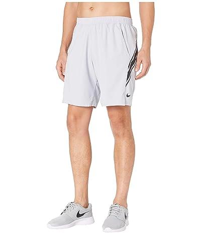 Nike NikeCourt Dry Shorts 9 (Sky Grey/Black/Black) Men