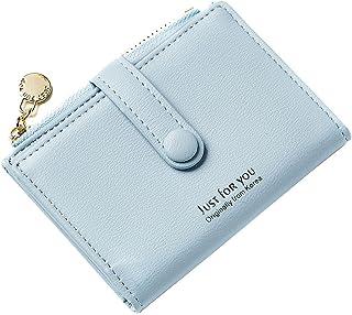 Slim Credit Card Holder for Men Women Minimalist Wallet Zipper Coin Purse Travel