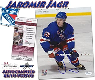 Jaromir Jagr Signed Picture - 8x10#I84481 - JSA Certified - Autographed NHL Photos