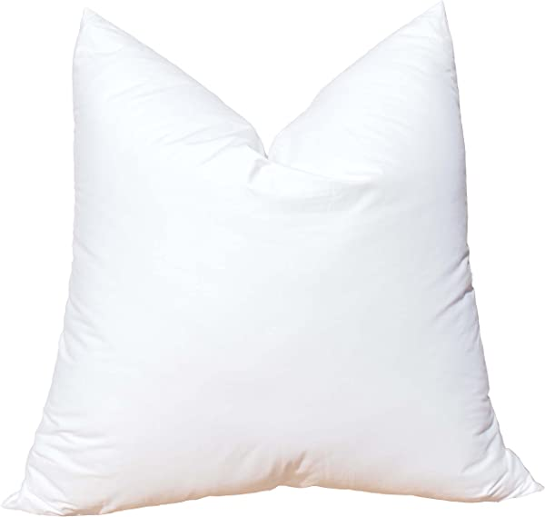 Pillowflex Synthetic Down Pillow Insert For Sham Aka Faux Alternative 24 Inch By 24 Inch