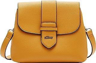s.Oliver Damen City Bag in Leder-Optik yellow 1