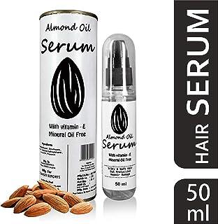 Aloetic Herbal Hair Serum with Vitamin E Almond Oil, 50 ml