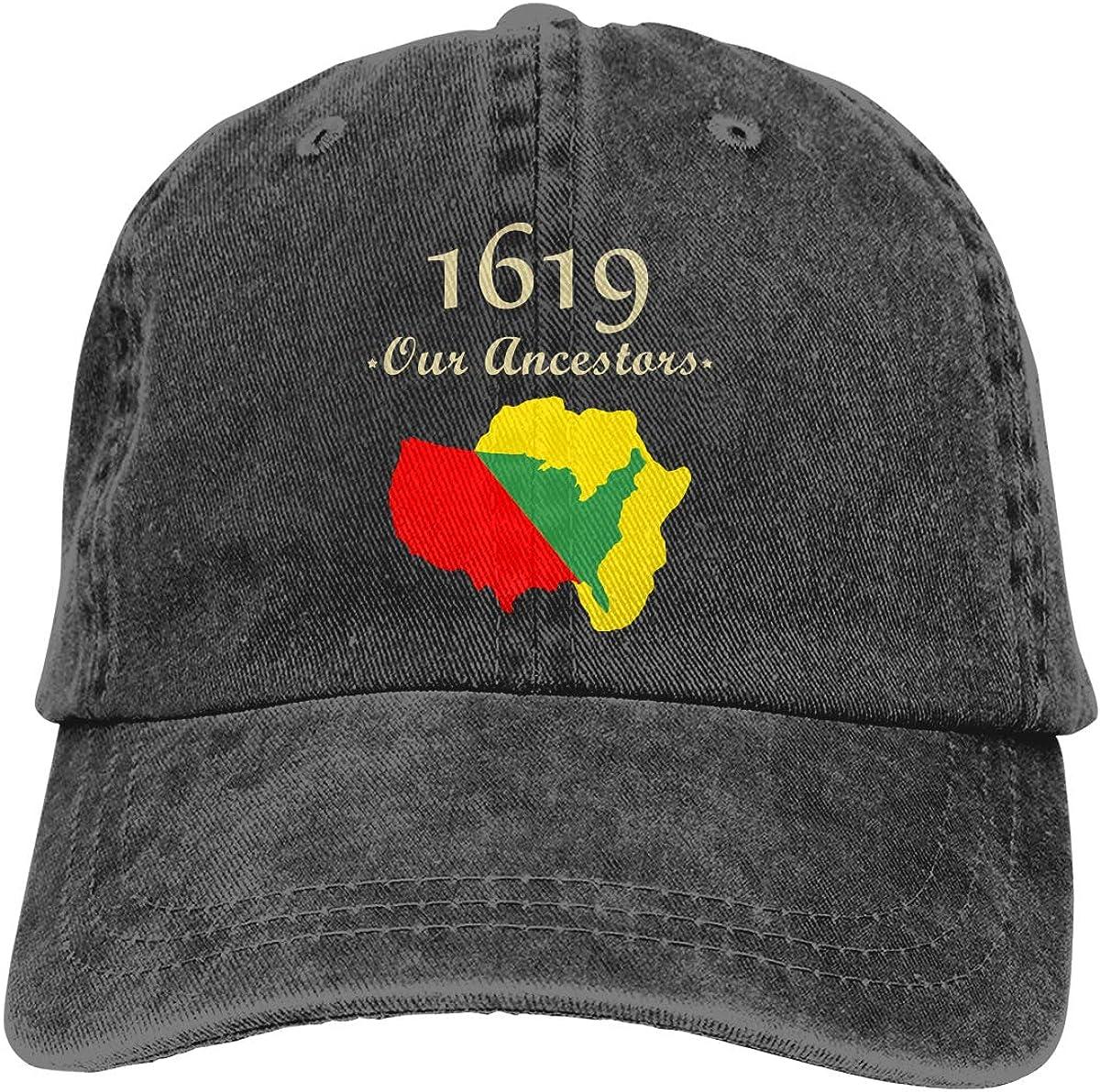 1619 Our Ancestors Project Unisex Adult Cowboy Hat Denim Hats Dad Hat Cool Hats