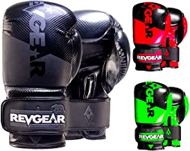 Revgear Pinnacle Boxing Glove   Entry Level   Comfortable & Stylish   Animal Free   Excellent Value