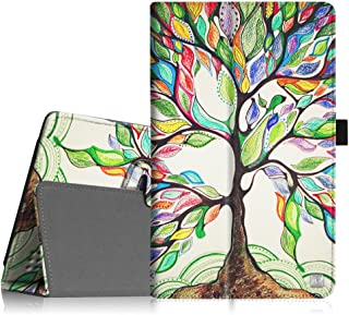 Fintie Nextbook Ares 8A Case - Slim Fit Premium Vegan Leather Folio Cover with Stylus Holder for Nextbook Ares 8A / Nextbook Ares 8 / Nextbook Flexx 8 / Nextbook 8 (Old Version) Tablet - Love Tree