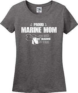 Proud Mom My Son Hero Ladies T-Shirt (S-3X)