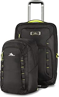 High Sierra Wheeled Carry-on w/Pack-N-Go Backpack