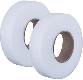 Fusible Hemming Web Tape 19mm x 25m No Sew Double Sided Iron-On Fuse