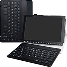 """Iconia One 10 B3-A50 Wireless Keyboard Case,LiuShan Detachable Wireless Keyboard Standing PU Leather Cover for 10.1"""" Acer ..."""
