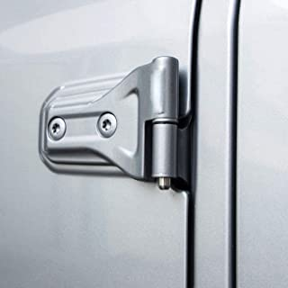 Jade Onlines for Jeep Wrangler Door Pin Guides Hinge Liners Prevent Hinge Scratches During Door Removal for Jeep Wrangler ...