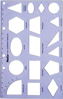 Maped Helix USA Helix Geometry Shape Template (08791)