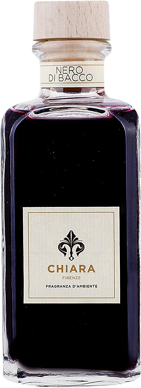 Chiara Firenze New mail order Room Fragrance Nero Max 64% OFF di with 100ml Bacco Stick