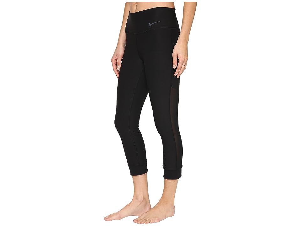 Nike Power Legend Veneer Training Capri (Black/Cool Grey) Women