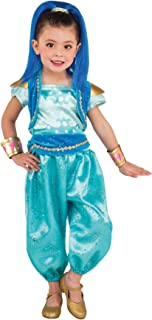 Girl's Shine Outfit Funny Theme Fancy Dress Child Shimmer & Shine Costume