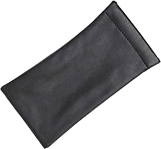 Slip In Eyeglass Case Soft Squeeze Top Pouch For Women Men, Medium To Large Glasses