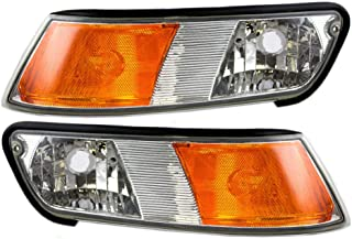 BuyRVlights Newmar Mountain Aire 37ft 2000-2004 RV Motorhome Pair (Left & Right) Replacement Corner Turn Signal Light Lamp