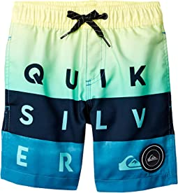 "Word Block Volley 14"" Shorts (Toddler/Little Kids)"