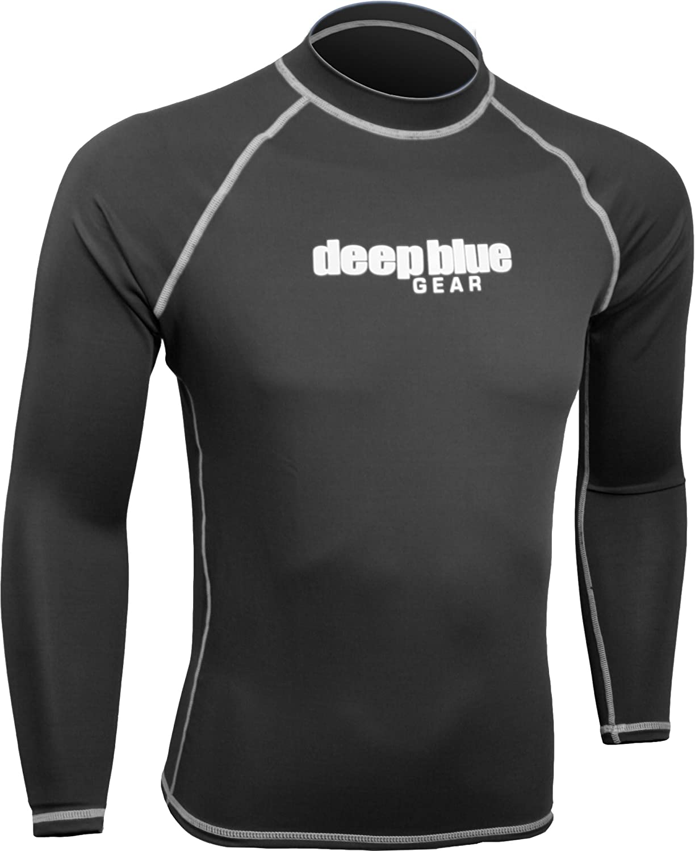 Deep Blue Gear Max 41% OFF Men's Max 60% OFF Sleeve Long Rashguard